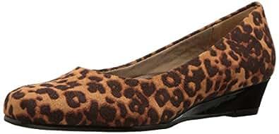 trotters 女式 lauren 高跟鞋 Tan Cheetah 10 2W US