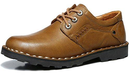 Guciheaven 英伦男士皮鞋 时尚商务休闲皮鞋 户外皮鞋 大头皮鞋 工装鞋 低帮男鞋JRSAC81361