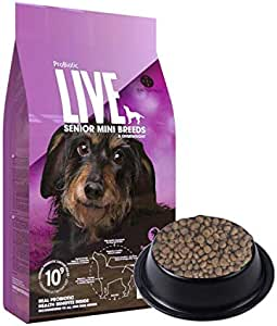 Bacterfield LIVE 活菌粮火鸡肉小型犬老龄犬粮/2kg(进口)(亚马逊自营商品, 由供应商配送)