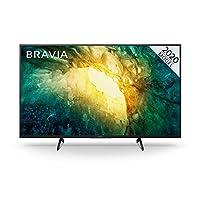 Sony 索尼 BRAVIA KD49X70-49英寸 - LED - 4K超高清(UHD) - 高動態范圍(HDR) - 帶Freeview Play的智能電視(黑色,2020型號)