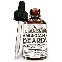 男士胡须软化剂 | 男士胡须油生长护发素 - *佳男士*护理和软化剂 - 美国制造无香型胡椒