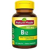 Nature Made 天维美 维生素B12 500微克,200片装
