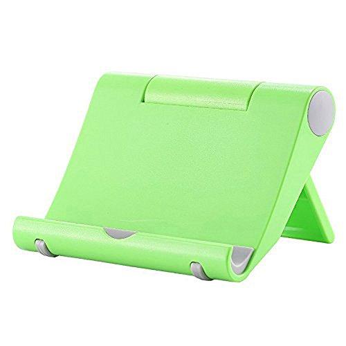 Whirldy 手机支架 桌面 懒人支架 ipad支架 手机平板通用 多功能 创意折叠 时尚 (绿色)