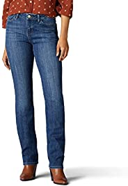 LEE 女式经典款直筒牛仔裤