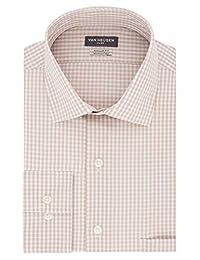 Van heusen 男式 FLEX 领常规版型领礼服衬衫
