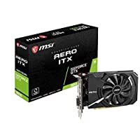 MSI NVIDIA GeForce GTX 1650 Aero ITX 4GB GDDR5 HDMI/DisplayPort/DL-DVI-D PCI-Express 显示卡