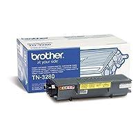 Brother TN-3280 激光打印機碳粉(8000 頁、激光打印機、兄弟、1.4 千克、360 x 195 x 150 毫米、8000 頁)