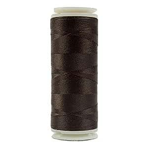 WonderFil Invisafil 专业螺纹,2 层棉质柔软聚酯纤维,100wt - 深色调 栗色 400m IFS-401