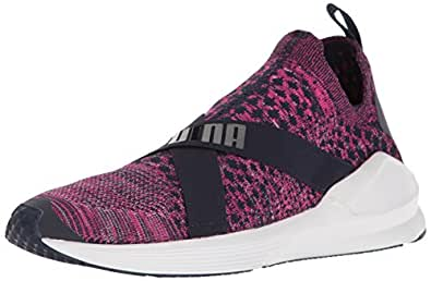 PUMA 女士 Fierce Evoknit WN's 交叉训练鞋 厚呢短外套/白色 5.5