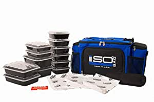 Isobag 6 Meal System - Reverse Color Blue/Black Accent 75 x 963 x 14 inches