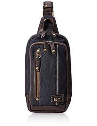 [Lee] 斜挎包 单肩 牛仔布 金属商标板 2口 320-3602