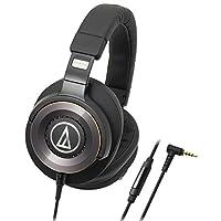 Audio-Technica 铁三角 ATH-WS1100iS 便携式智能手机耳麦 黑色