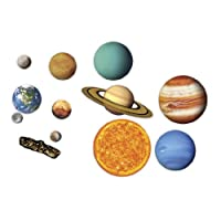Learning Resources ler6040 大型磁性太阳系 白板展示 13件套装 5岁以上