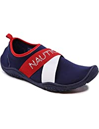 Nautica Rawan 女士运动水鞋赤脚沙滩运动夏季鞋