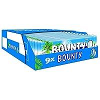 Bounty 9 Pack 256,5g, 17er Pack (17 x 256 g Packung)