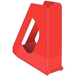 Esselte 立式收藏 Vivida, A4, 塑料 红色