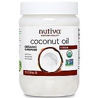 Nutiva 优缇 纯鲜初榨椰子油858ml(美国进口)(特卖)