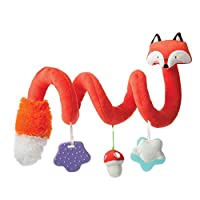 Manhattan Toy 旅行玩具 + 舒适狐狸活动螺旋婴儿玩具