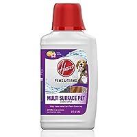 Hoover 胡佛爪子和爪子多表面地板清洁剂,用于 FloorMate 机的浓缩宠物清洁液,32 盎司*,AH30429,白色