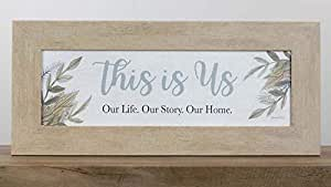 Summer Snow This is Us Our Home Our Family Our Story 带框艺术标志图片装饰 Sandstone Frame SSA1036613