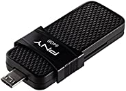 PNY P-FD64GOTGSLMB-GE Duo Link OTG Micro USB 3.0,64GB
