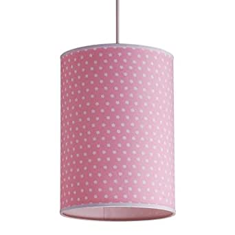 Laura Ashley PXY101 Daisy Complete Pendant, Pink
