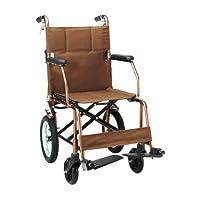 一期一会 日本折叠便携看护车飞机轮椅NR-100BB(亚马逊自营商品, 由供应商配送)