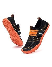 CIOR 男孩和女孩水鞋 速干运动 水上运动鞋 轻质运动鞋(幼儿/小童/大童)U120WZ2001-橙色-32