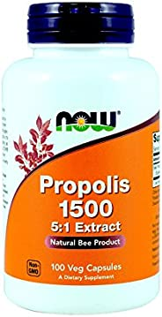 Now Foods 蜂胶 500 毫克 - 100 Caps (3瓶)
