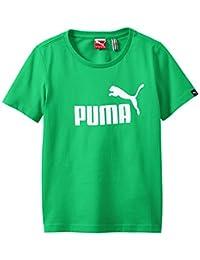 Puma 男童 T 恤 Logo Essentials B
