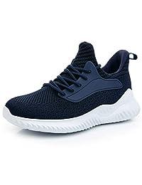 IPETSUN 女士运动步行鞋 - 滑动*泡沫轻质透气网面跑步运动鞋适合健身房旅行工作