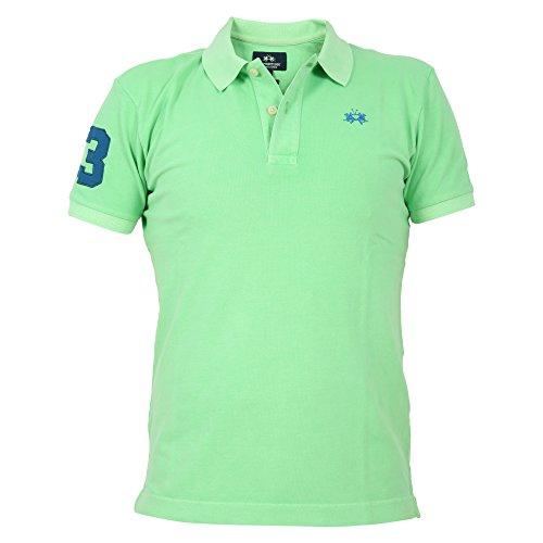 男人与?y???la_la martina la martina 男人 fmp328pk00103124 绿色 棉 保罗衫