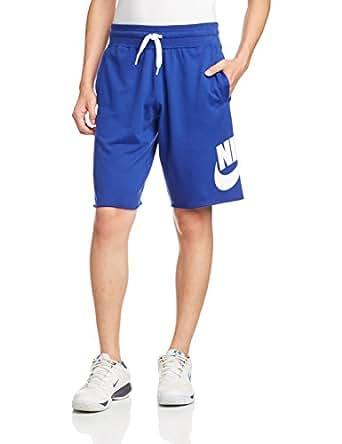 Nike 耐克 AS NIKE AW77 ALUMNI SHORT-LT W 男式 短裤 678573-457 蓝色 170