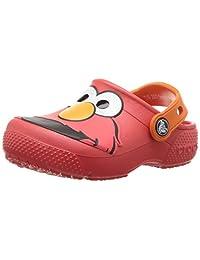 Crocs 卡洛驰儿童 Fun Lab Elmo 洞洞鞋