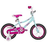JOYSTAR 女孩自行车,带训练轮,适合 14 英寸和 16 英寸儿童自行车,带支架 适合 18 英寸儿童自行车和过山车刹车