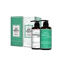 Greenery Lab Perilla Fo-ti 天然**和加厚洗發水和護發素套裝(42.55 克) 每個)