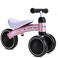 FERSOAR F 烽索 LUDDY系列 1-2岁儿童滑行平衡车 三轮学步车扭扭车1003S-B 粉色