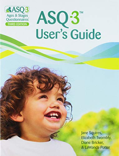Ages & Stages Questionnaires (R) (ASQ (R)-3): Starter Kit (English): A Parent-Completed Child Monitoring System