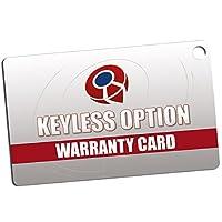 KeylessOption 无钥匙入门级远程智能汽车钥匙扣 适用于 2007-2015 捷豹 XF XK8 XKR XK 1x Shell KPT6721