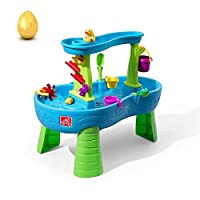 Step2 雨淋淋浴水池水桌 | 儿童水游戏桌 13 件套配件套装
