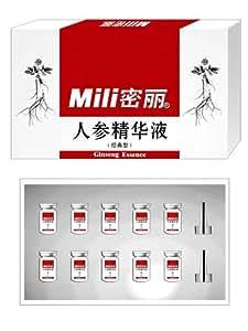 Mili 密丽人参精华液(经典型)(套装)8mlx10瓶 高级人参护肤品礼盒 抗皱 紧致肌肤 深度养护