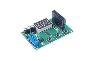 LM YN DC12V 1 通道固态继电器模块直流控制交流继电器模块低级触发器分离可编程交流 250V 2A 固态继电器