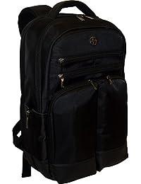 Wenger 威戈 SwissGear Hedge 背包带 16 英寸笔记本电脑口袋 - 黑色