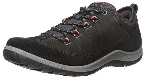 ECCO 女式 aspina 低 gore-tex-w 运动户外鞋黑色 B (M) 美国尺码