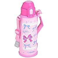 ZOJIRUSHI 象印 水瓶 带吸管款 不锈钢保温杯 520毫升 粉红色 SD-CB50-PA