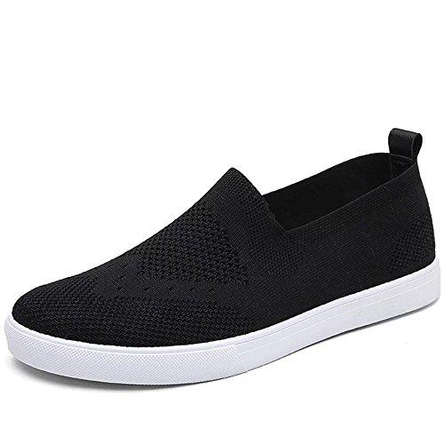 Virility 温尔仕 2017夏季新款英伦风飞织板鞋 潮流透气休闲男鞋 舒适布鞋驾车鞋 XLDM-5Y-V