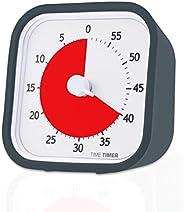 定時器 MOD,60 分鐘可視模擬計時器,可選警報(開/關),無噪音的計數;時間管理工具 3-1/2 x 3-1/2 in 85641 1