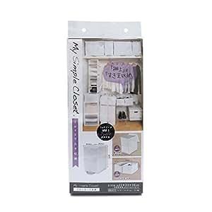东和产业 MSC 衣柜收纳 白色 白色 41×18×5cm 85694
