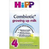 HiPP 有机成长牛奶2岁+ 600克(4瓶)