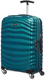 Samsonite 新秀丽 Lite-Shock 万向轮 S 手提行李箱,Petrol Blue,55 cm